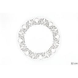 Dentelles en papier blanc - différents formats
