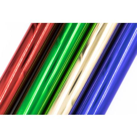 Rouleaux de papier cadeau en polypropylène teinté