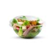 Bol à salade transparent 1000 ml et son couvercle
