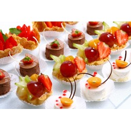 Caissettes en papier plissé pour pâtisseries, cupcakes, muffins,
