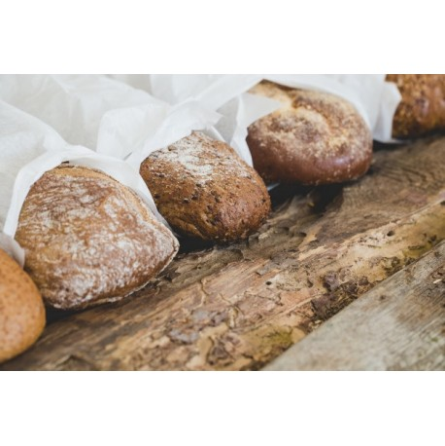 Papier kraft blanc pour emballer le pain en bobine ou feuille