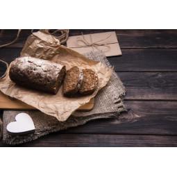 Feuilles de papier kraft brun pour emballer le pain