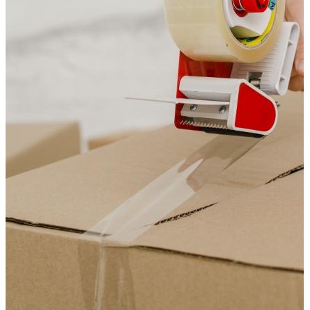 Ruban adhésif PVC havane ou transparent