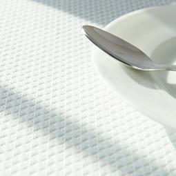 Nappes en papier gaufré blanches - différents formats
