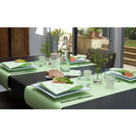 Rouleau de chemin de table en non-tissé 30cm x 24m - différents coloris