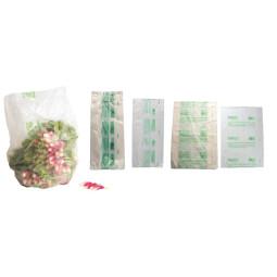 Sac liassé biodégradable compostable - 4 tailles