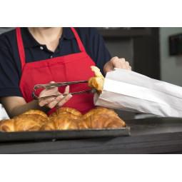 Sacs croissants en kraft blanc n° 2 à 6