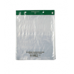 Sac plastique liassé transparent en 50 microns